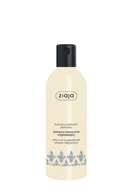 szampon intensywnie wygładzający z jedwabiem