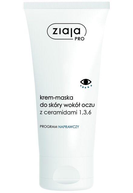 krem-maska do skóry wokół oczu z ceramidami